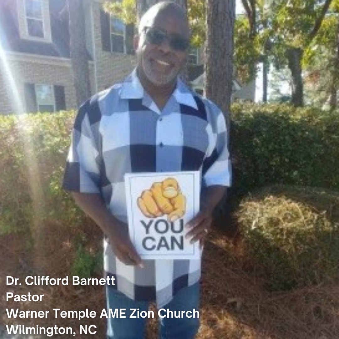 photo of Reverend Cliff Barnett
